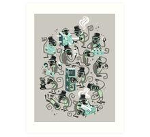 Monkey Magic  Art Print