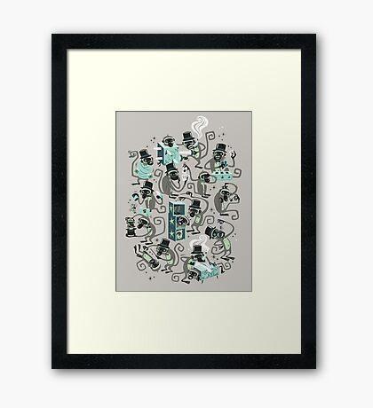 Monkey Magic  Framed Print