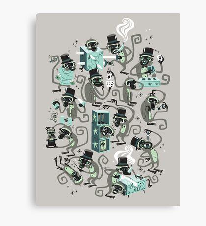 Monkey Magic  Canvas Print