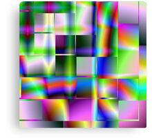 Abstract Squares Canvas Print