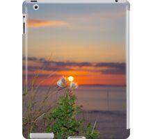 yellow sunset tall thistles iPad Case/Skin