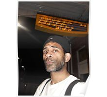 Kingswood train station/Departure -(280212)- digital photo Poster