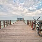Pier at Anna Maria Island, Florida by John Hartung