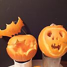 Carved Pumpkins by Livvy Young