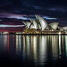 Reflections - Sydney Opera House by Stephane Milbank