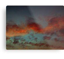 October Sunset (3380) Metal Print