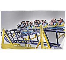 Roller Coaster Mayhem! Poster
