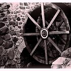 Old mill wheel by TPKid