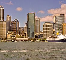 Saga at Rectangular Circular Quay by TonyCrehan