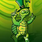 Saint Patrick&#x27;s Day Turtle by Zoo-co
