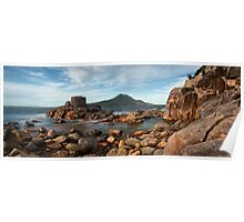 Port Stephens Castle - pano  Poster