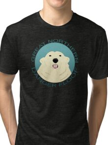 The Great Northern Danger Floof Tri-blend T-Shirt