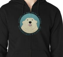 The Great Northern Danger Floof Zipped Hoodie