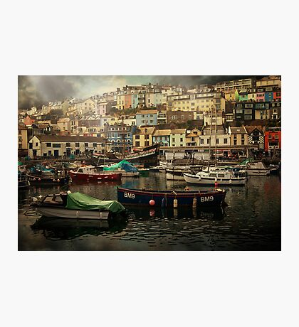 Harbour and boats Photographic Print