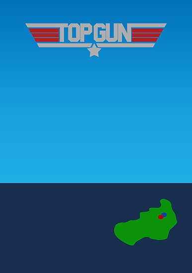 Top Gun - Minimal Poster 2 by konman96