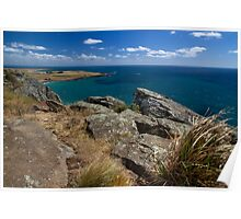 Bass Strait from The Nut - Stanley, Tasmania Poster
