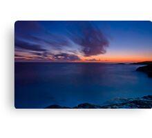 Last Light, Boat Harbour Sunset Canvas Print
