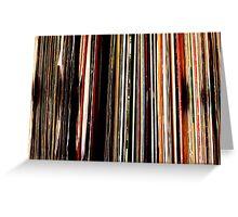 Vinyl Junkie Greeting Card