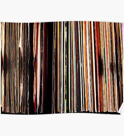 Vinyl Junkie Poster