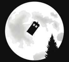 Moonlight TARDIS by morganbryant