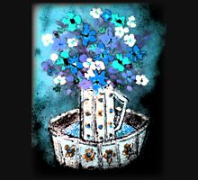 """""""Glazed Flowers in Pitcher and Base""""© Womens Fitted T-Shirt"""
