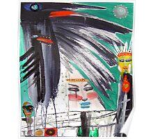 2 ravens 3 kachinas Poster