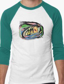 circle of crow Men's Baseball ¾ T-Shirt