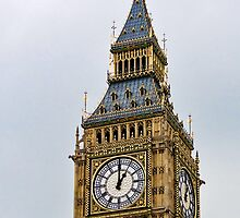 Parliament Time ~ Big Ben ~ London by Susie Peek
