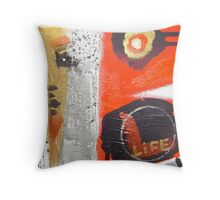 life fights for light  4 Throw Pillow
