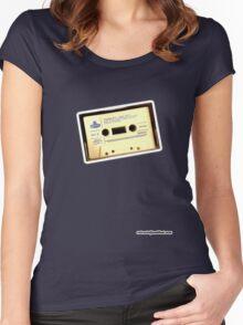 Run DMC Cassette Women's Fitted Scoop T-Shirt