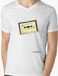 Run DMC Cassette Mens V-Neck T-Shirt