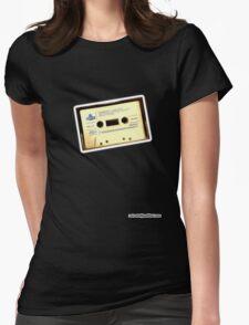 Run DMC Cassette Womens Fitted T-Shirt