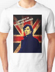 SherlockBelieveFlag T-Shirt