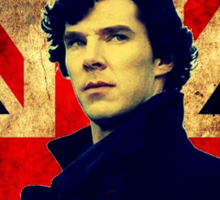 SherlockBelieveFlag Sticker