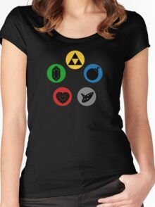 Magic the Gathering: Mana of Time Women's Fitted Scoop T-Shirt
