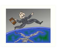 binary options leap year trading day Art Print