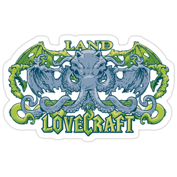 Land of Lovecraft by nikholmes