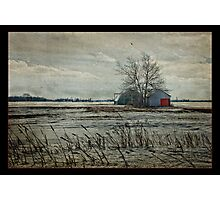 Once was a farm Photographic Print