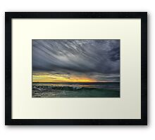 Wave to the Sky Framed Print