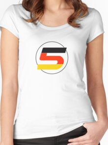 Vettel 5 Women's Fitted Scoop T-Shirt