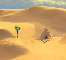Desert hut by DanielVijoi