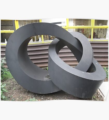 Morley College Sculpture/1 of 3 -(260212)- Digital photo Poster