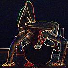 Yogalicious by gnarlyart
