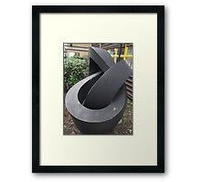 Morley College Sculpture/2 of 3 -(260212)- Digital photo Framed Print