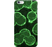 Green Globs iPhone Case/Skin