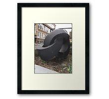 Morley College Sculpture/3 of 3 -(260212)- Digital photo Framed Print