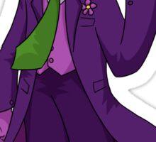 Dr. Wily Joker Sticker