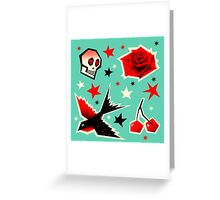 Swallow the cherry Greeting Card
