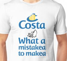 Costa Cruises Unisex T-Shirt