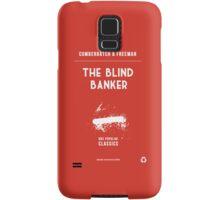 BBC Sherlock - The Blind Banker Minimalist Samsung Galaxy Case/Skin